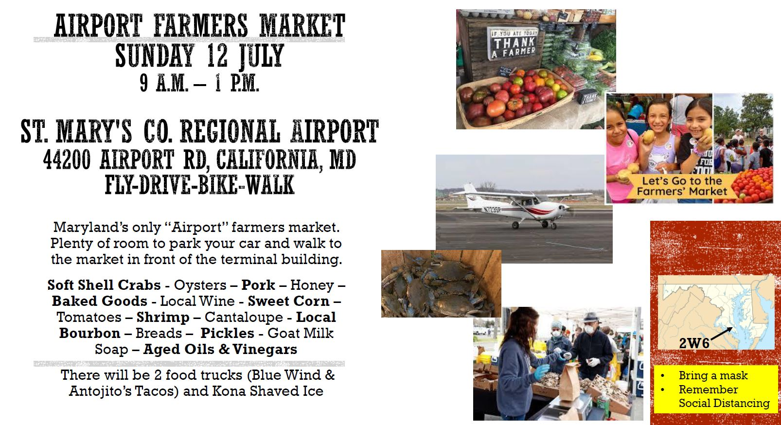 St. Mary's Airport Farmers Market