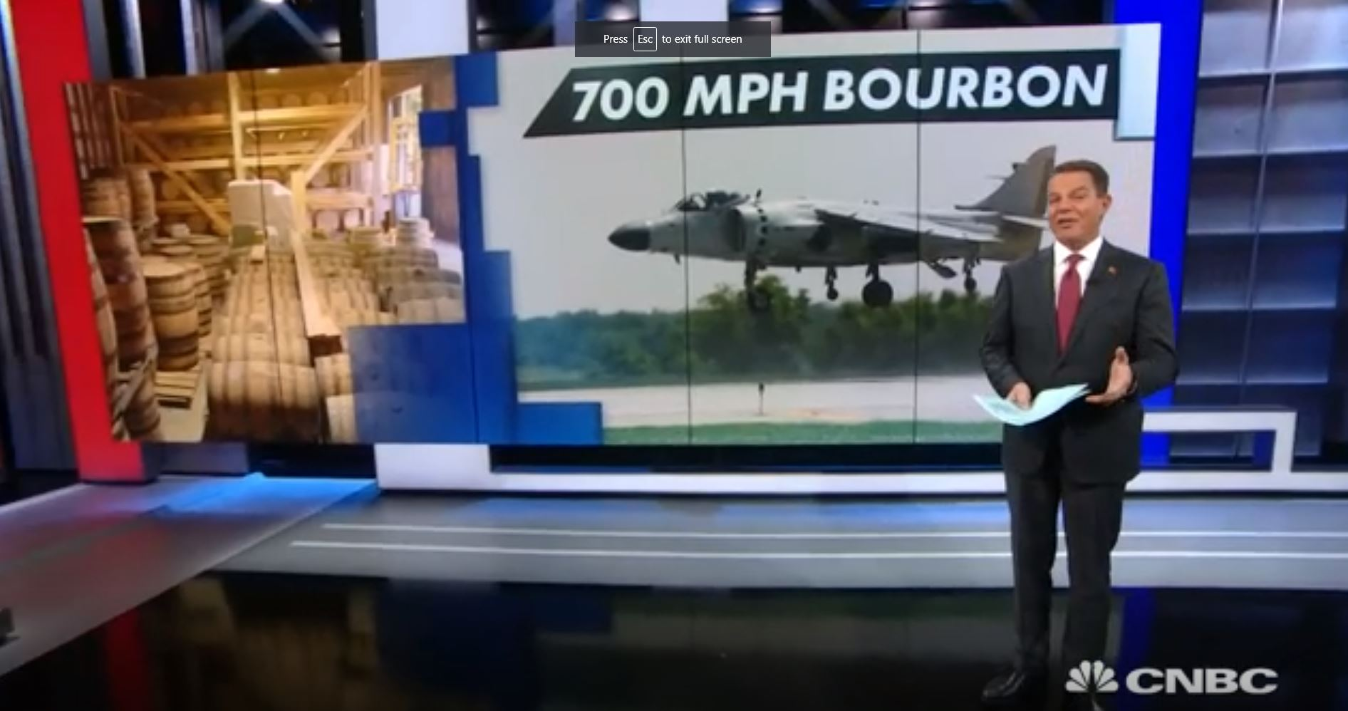 700MPH Bourbon Featured on CNBC